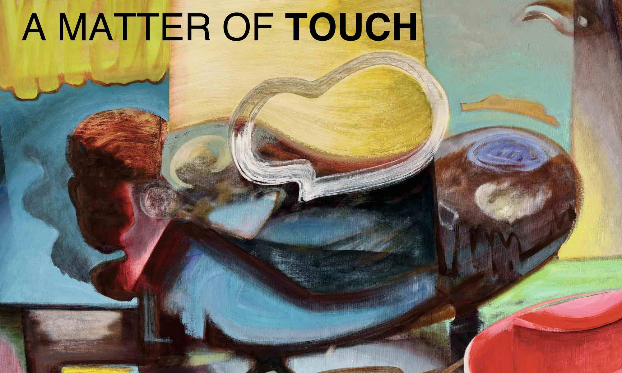 Exhibition A Matter of Touch, invitation card