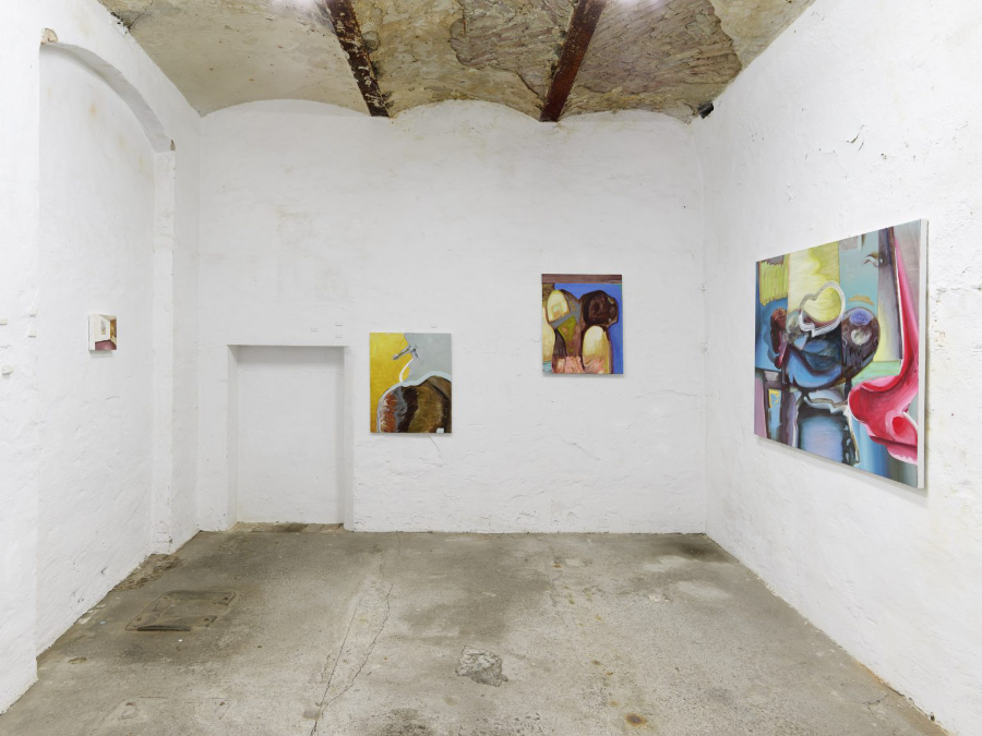 Exhibition A Matter of Touch, curated by Jurriaan Benschop, works by Kiki Kolympari