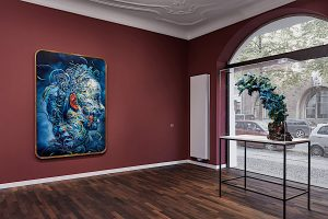 Glenn Brown exhibitioin at Max Hetzler gallery Berlin