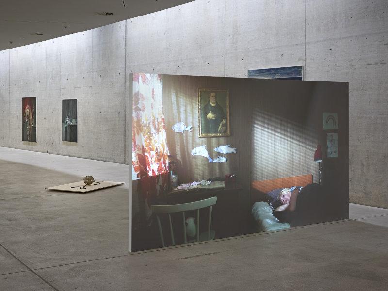 Exhibition TAKING ROOT at Kunst im Tunnel in Düsseldorf, curated by Jurriaan Benschop