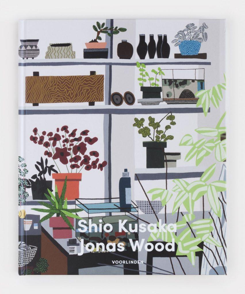 Cover of the book 'Shio Kusaka Jonas Wood' published by Museum Voorlinden, essay by Jurriaan Benschop