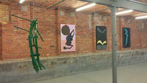 Reimagingin Europe, works by Monika Sosnowska and Milena Dragicevic