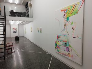 Exhibition Gerlind Zeilner, Line of Thought, curated by Jurriaan Benschop